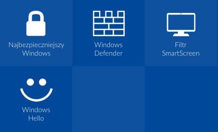 Bezpieczny, bezpieczniejszy, Windows 10
